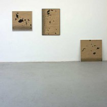 'Remains/Stolen footage (after Angela Bulloch #2, #3 and #4)', 2012, found footage/frames, 70x70 cm, 53x93 cm, 80x80 cm, €1700/piece, €4600/tryptich